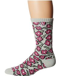 Huf X Krooked Flowers Sock - Pink