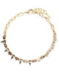 Joomi Lim - Spike Bead Chain Necklace - Lyst