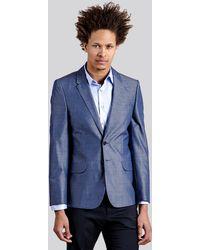 Paul Smith Grey Jacket - Lyst