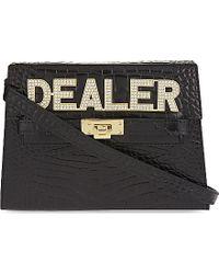 Mawi - Dealer Leather Clutch - Lyst