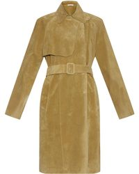 Tomas Maier - Summer Suede Trench Coat - Lyst