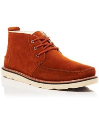 TOMS Suede Chukka Boots - Lyst
