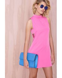 Nasty Gal Pink Rizzo Dress - Lyst