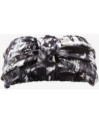 Eugenia Kim Natalia Knotted Print Headband: Black/White black - Lyst