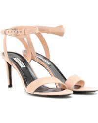 Balenciaga | Suede Sandals | Lyst