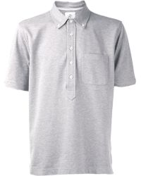 Black Fleece By Brooks Brothers - Pique Polo Shirt - Lyst