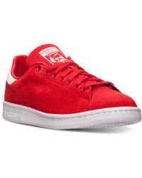 Adidas Mens Originals Stan Smith Casual Sneakers From Finish Line - Lyst
