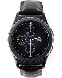"Samsung - Total Black ""gear S2"" Smartwatch - Lyst"