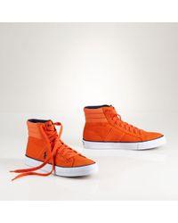 Polo Ralph Lauren Bawtry Canvas Sneaker - Lyst