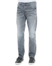 G-Star RAW Attacc Straight-Leg Stretch Denim Jeans - Lyst
