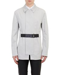 Balenciaga Belted Caban Coat - Lyst