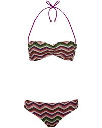 Missoni Mare Macro Zig Zag Bikini - Lyst