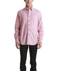Blue&Cream Rose Oxford pink - Lyst