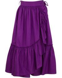 Rachel Comey Bossa Skirt purple - Lyst