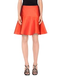 Alberto Biani - Knee Length Skirt - Lyst
