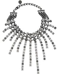 Lanvin - Crystal Strand Necklace - Lyst