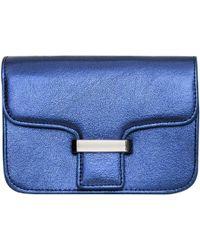 Mango - Small Chain Strap Flap Handbag - Lyst
