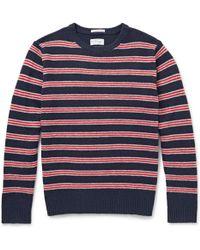 Gant Rugger Striped Wool Sweater - Lyst