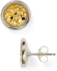 Anna Beck - Circle Stud Earrings - Lyst