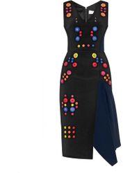 Peter Pilotto Calli Embellished Dress - Lyst