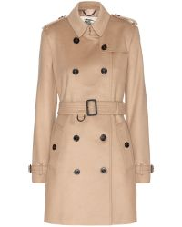 Burberry London The Kensington Wool And Cashmere-Blend Coat - Lyst