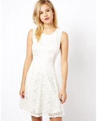 A Wear   Lace Skater Dress   Lyst