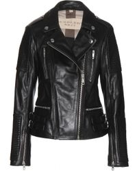 Burberry Brit Mossfield Leather Jacket - Lyst