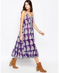 Raga Delilah Maxi Dress - Purple