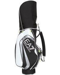 Emporio Armani - Patent Faux Leather Golf Club Bag - Lyst