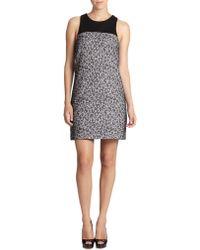 4.collective Sleeveless Leopard-Print Dress - Lyst
