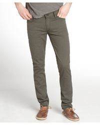 James Jeans Meadow Green Stretch Denim Tom Slim Leg Jeans - Lyst
