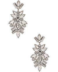Lisa Freede Monaco Earrings - Metallic