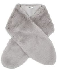 Reiss - Falabella Faux Fur Stole - Lyst