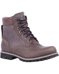 Timberland The Earthkeepers Rugged 6 Plain Toe Waterproof Boot - Lyst