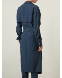 Baja East - Belted Lightweight Trench Coat - Lyst