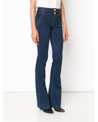 Veronica Beard Bootcut Jeans - Blue
