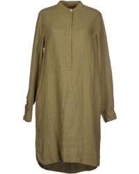 Gant Short Dress - Lyst