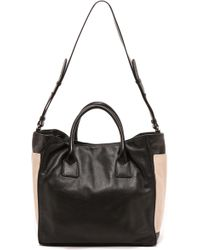 See By Chloé Nellie Tote with Shoulder Strap  Blackpearlypearly - Lyst