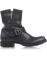 Fiorentini + Baker Black Ankle Boots - Lyst
