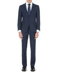 Corneliani Pinstripe Wool Suit - For Men - Lyst
