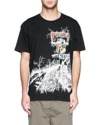 McQ by Alexander McQueen Freeway Print Drop Shoulder T-shirt - Lyst