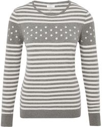Cc Spot Embroidered Jumper - Lyst
