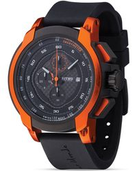 Ritmo Mundo - Quantum Ii Stainless Steel And Orange Aluminum Watch, 50mm - Lyst