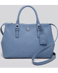 Tory Burch Tote - Robinson Mini Double Zip - Lyst
