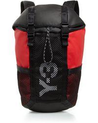 Y-3 Flap Top Backpack - Lyst