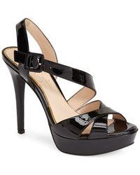 Jessica Simpson 'Beverlie' Platform Sandal black - Lyst
