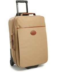 Longchamp 'Le Pliage' Wheeled Carry-On brown - Lyst