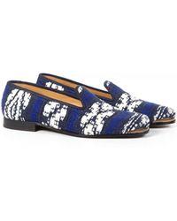 Cobra Society Najet Tapestry Loafer blue - Lyst