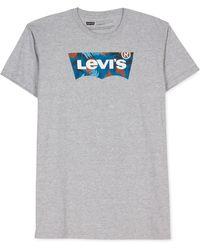 Levi's Paradiso Logo T-Shirt gray - Lyst