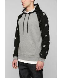 BDG - Stars Pullover Hoodie Sweatshirt - Lyst